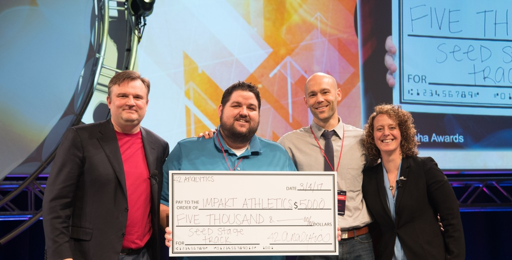 Impakt Athletics wins the startup competition at the '17 Sloan Sports Analytics Conference